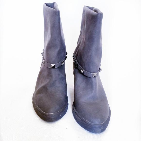 380e4c537f60f Jennifer Lopez sz 8.5 Rheena boots gray new wedge